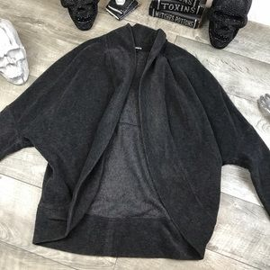 James Perse yosemite grey cardigan sweater